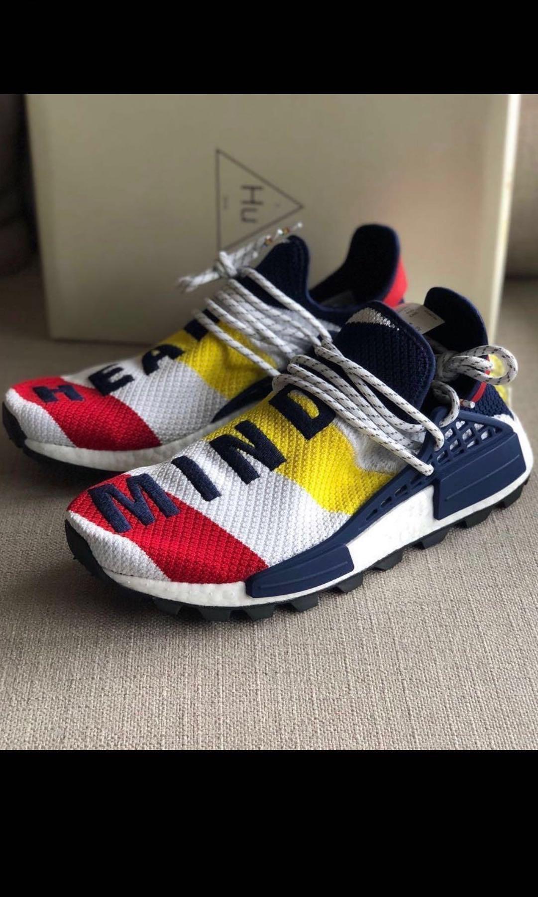 new arrival 7cd3a a442a BBC x Adidas NMD X Pharrell Williams Human Race Multi Color ...
