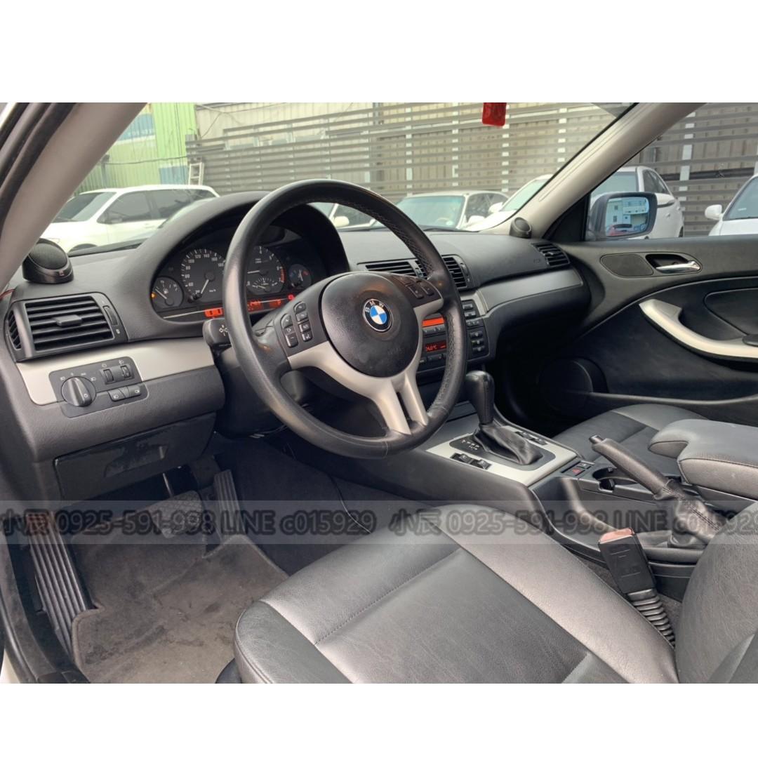 BMW 318CI 超甜價雙門轎跑 審核個人貸款額度 強力過件低利率 LINE:c015929