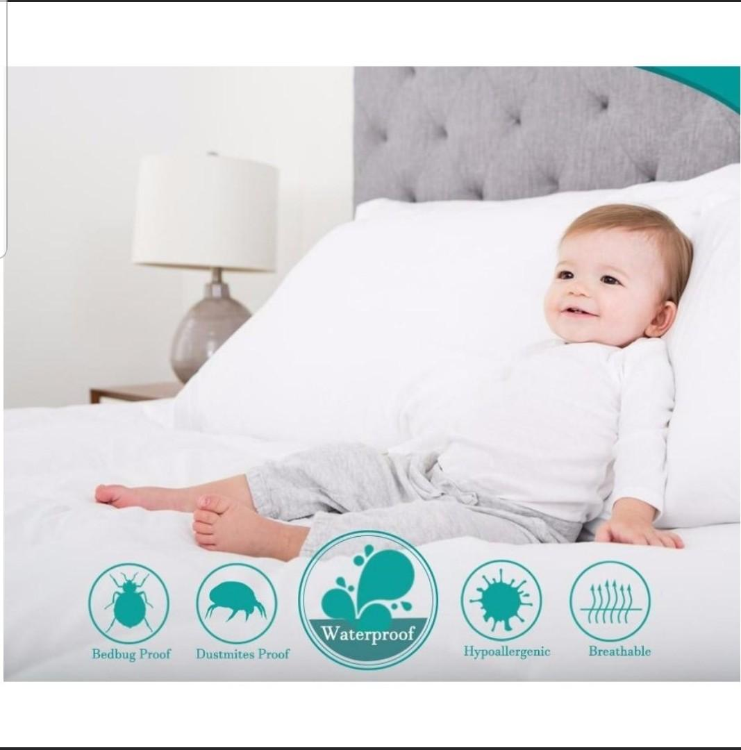 Bottomclean Waterproof Mattress Protector Bottom Clean Babies Kids Strollers Bags Carriers On Carousell