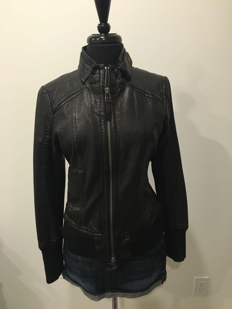 Brand new mackage leather jacket from Aritzia size L