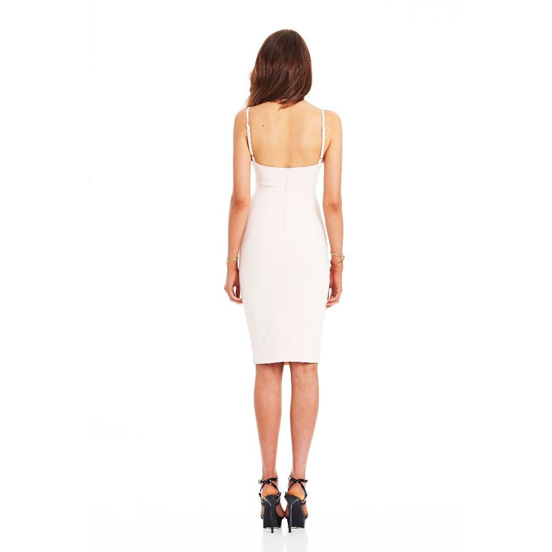 Bridget Bustier Dress - COLOUR: NEW NUDE -SIZE: XS