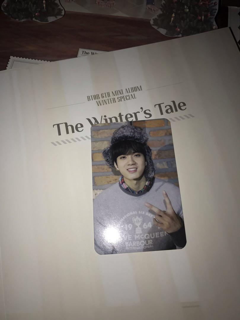 BTOB Peniel Official Photocard from The Winters Tale