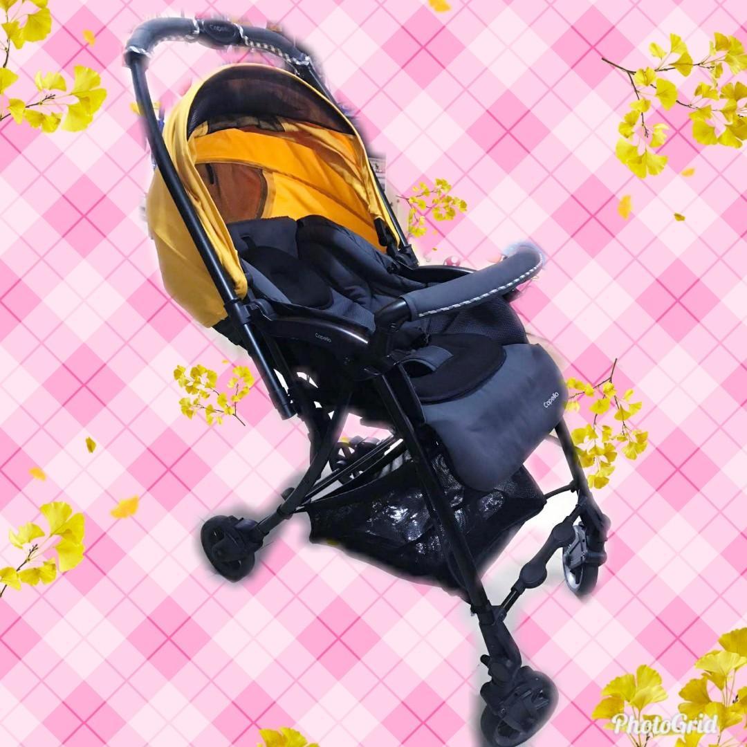 👶👶新款黃色Capella 嬰兒車