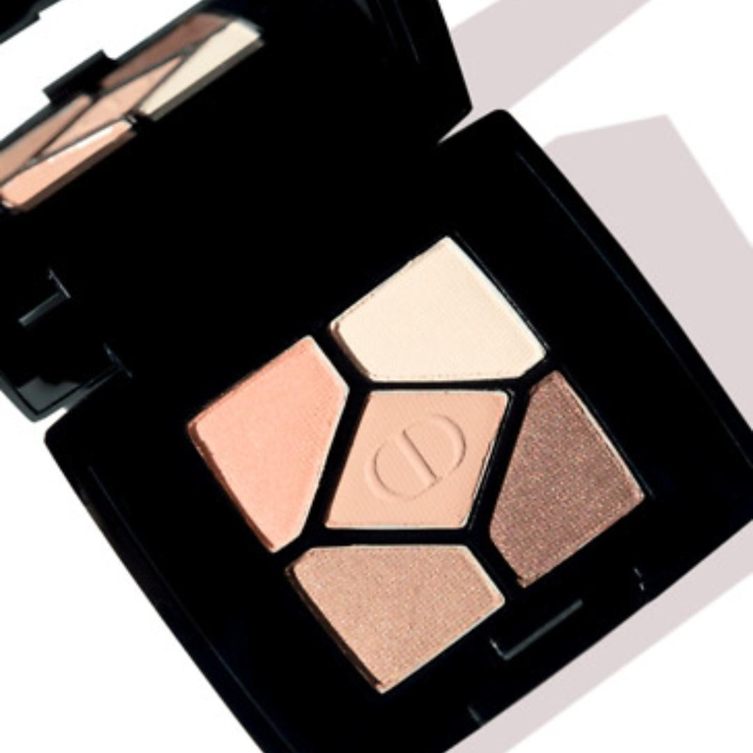 """Christian Dior 5 Colours Mini Eyeshadow Palette (in the shade """"647 Undress"""")."""