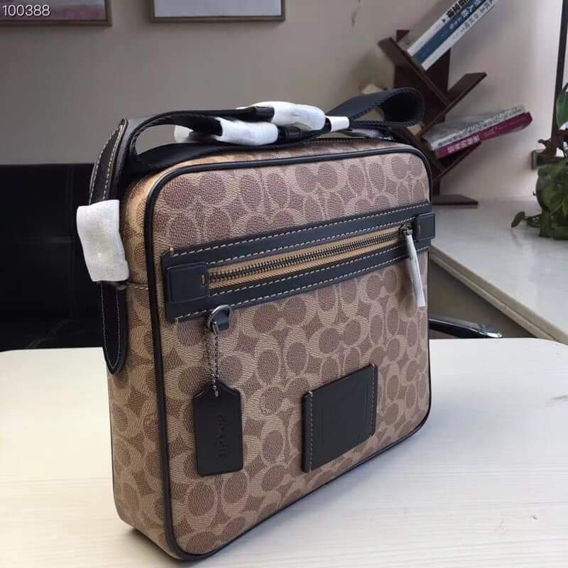 3c15513c6 Coach Dylan 27 in Signature Canvas, Men's Fashion, Bags & Wallets, Sling  Bags on Carousell