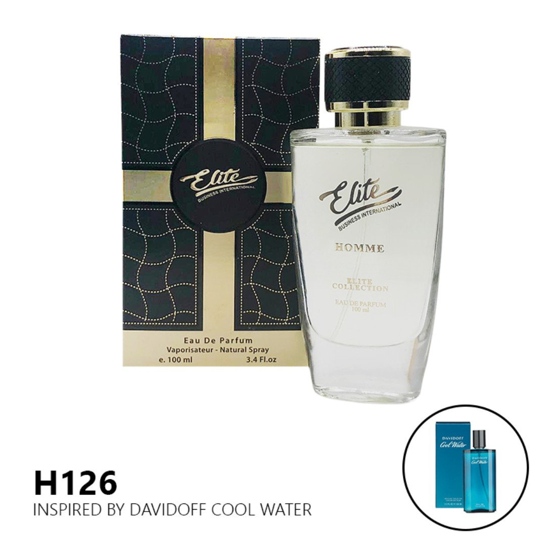 Elite H126 Inspired By Davidoff Cool Water Homme 100ml Health