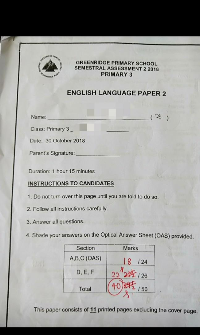 English Tuition by Ex school teacher