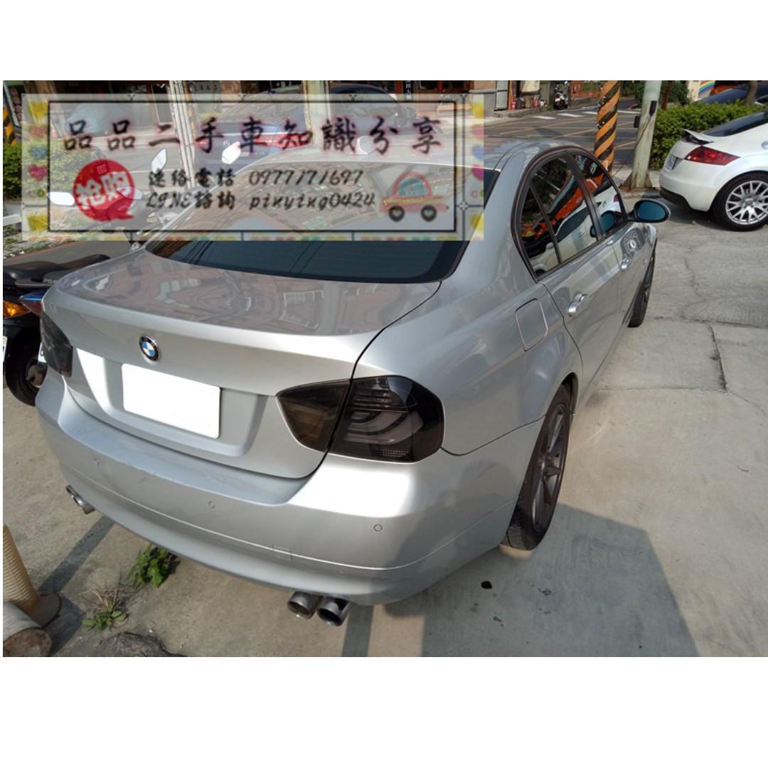 FB搜尋『品品二手車知識分享』百輛車庫任君挑選 2006年 bmw 320i 銀色
