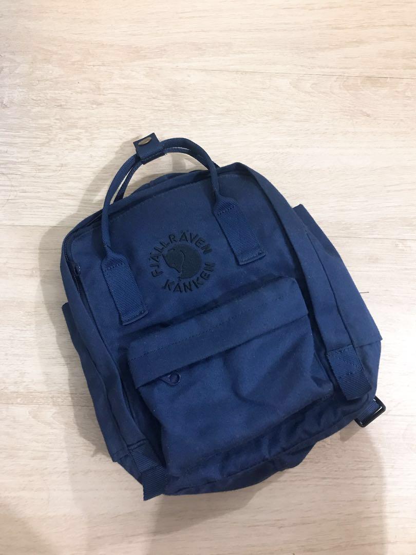 86db90ef059 Fjallraven Re-Kanken Mini Backpack, Women's Fashion, Bags & Wallets ...