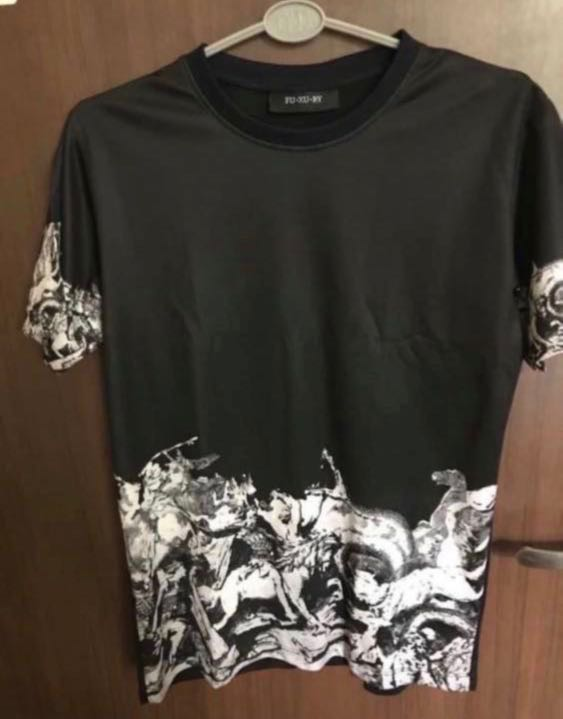 dde6dbdf Fuxury T-Shirt, Men's Fashion, Clothes, Tops on Carousell