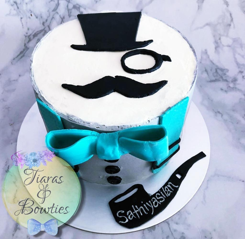 Enjoyable Gentleman Cake Birthday Cakes Guy Birthdays Suit Cakes Food Personalised Birthday Cards Beptaeletsinfo