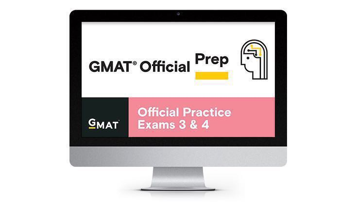 GMAT Official Practice Exams 3 & 4- activation code