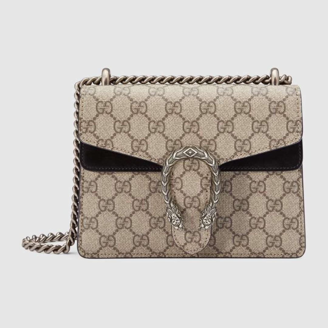 bad5908ec23 Gucci Dionysus mini leather bag