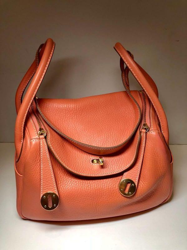 58534286 Hermes Lindy 26 Taurillon Clemence, Women's Fashion, Bags & Wallets ...