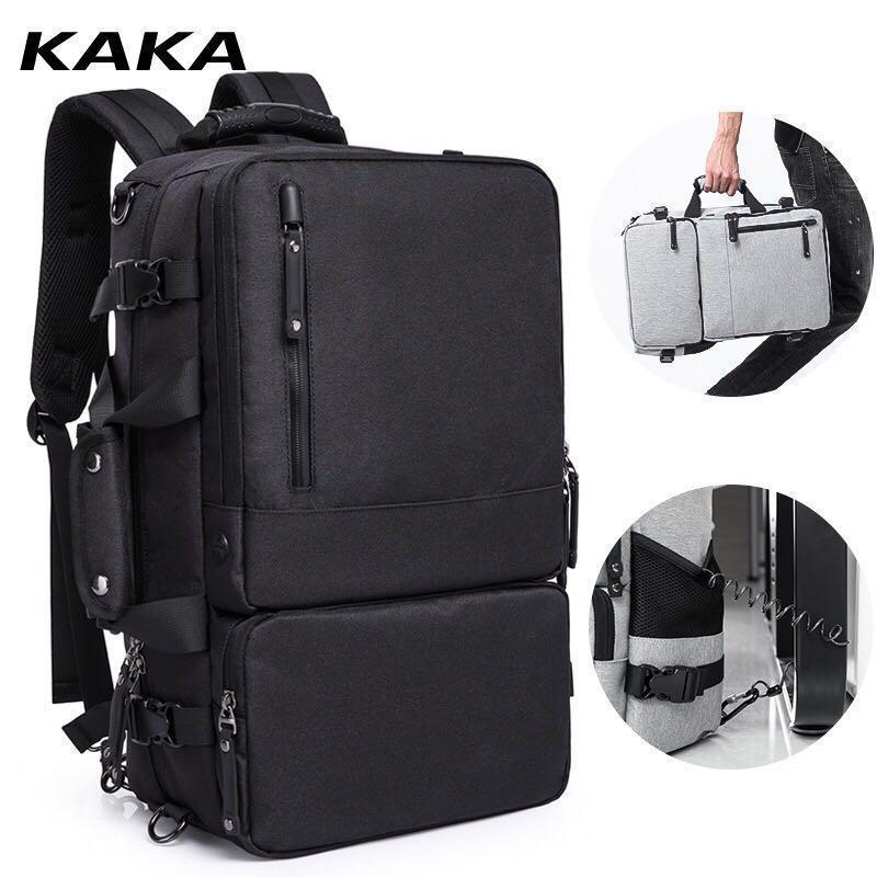 b7918f8f5f66 High Capacity Laptop Anti theft Backpack Men Business Luggage ...