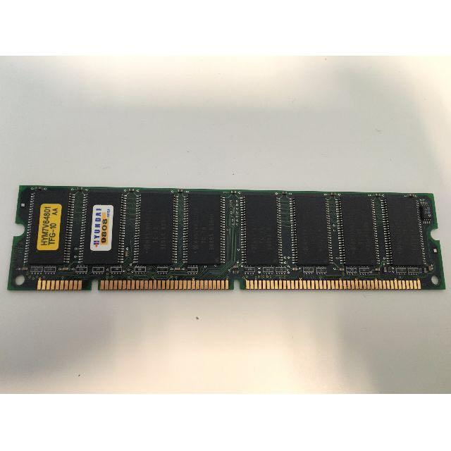 *NICE 4X Hyundai PC100 64MB 100Mhz SDRAM Laptop Memory