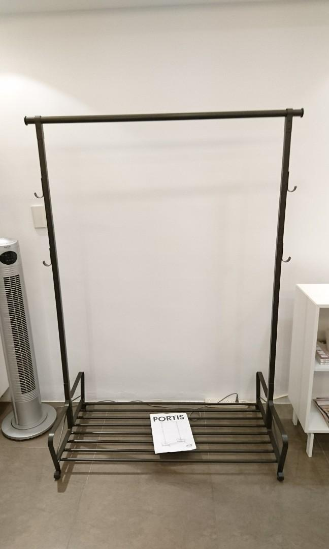Ikea portis 吊衣桿