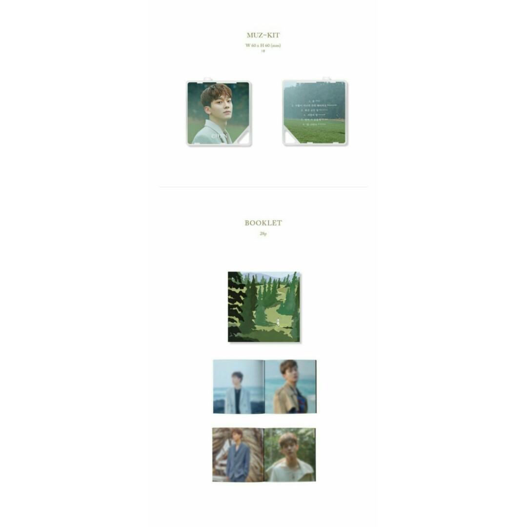 [PO] CHEN 1st Mini Album - April, and Flower (사월, 그리고 꽃) [KHINO]
