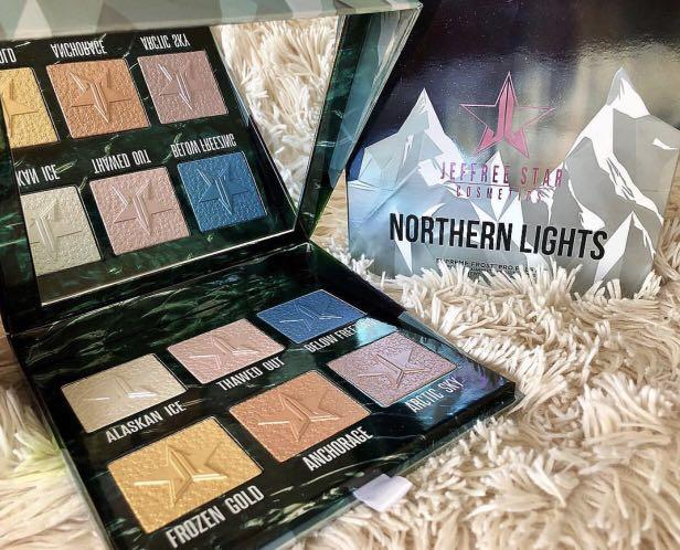 Jeffree Star Northern Lights Palette (limited edition)