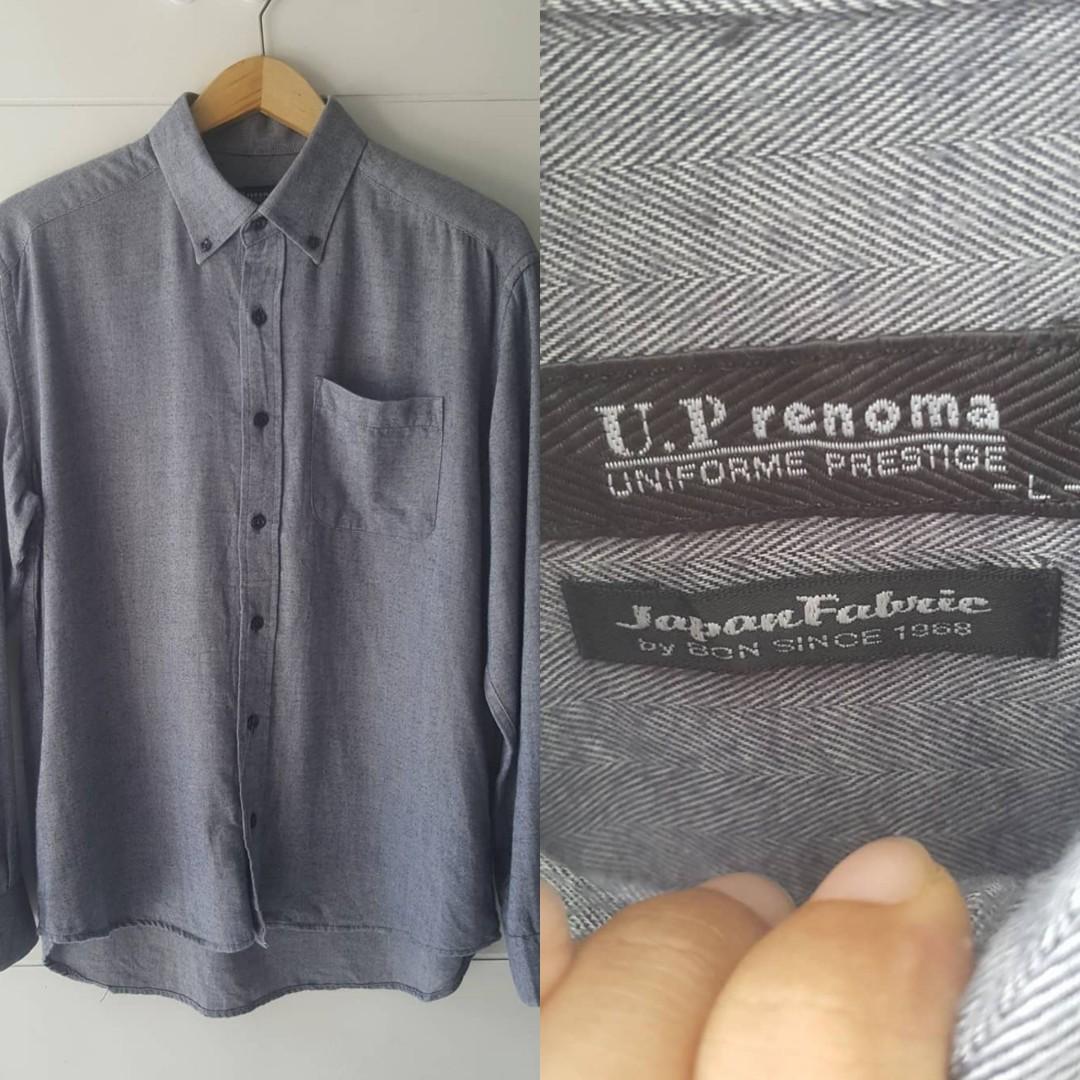 Kemeja import Merek U.P Renoma
