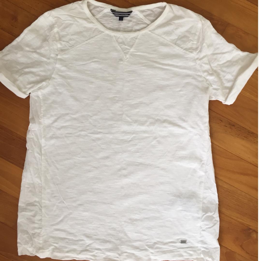 5f1c77b1 Tag Tommy Hilfiger Ladies White T Shirt — waldon.protese-de-silicone ...