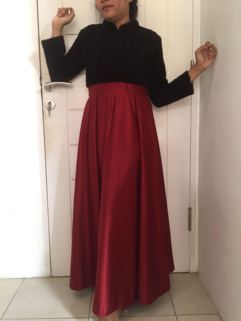 Longdress blackred