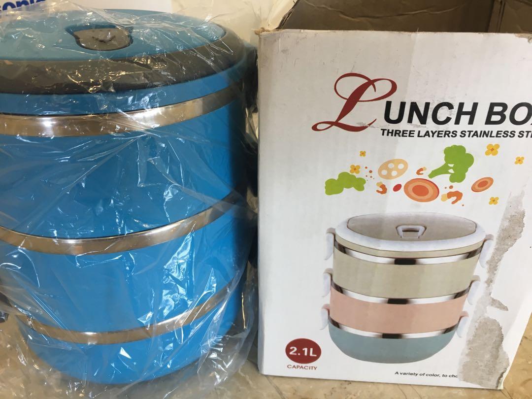 Lunch Box (2.1L) blue