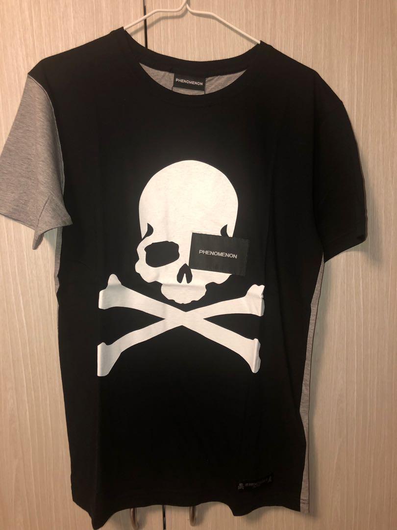 Mastermind Japan x Phenomenon Split Skull Logo Tee MMJ