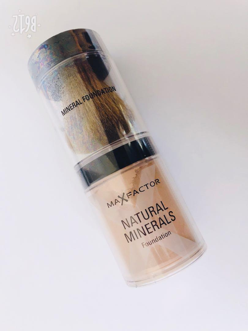 Max Factor Natural Minerals Foundation - 45 Warm Almond
