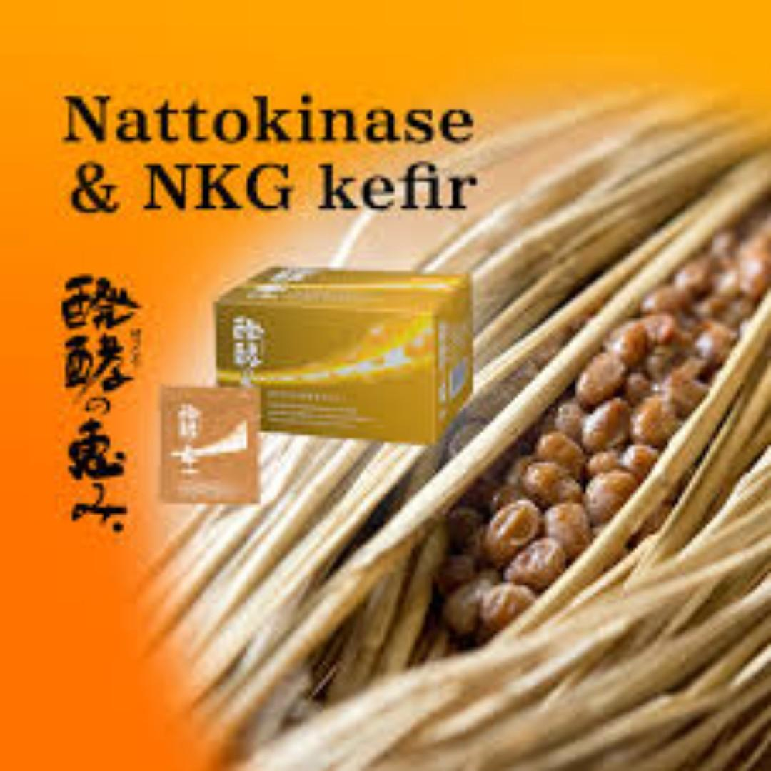 Nattokinase + Kefir for Prevention of Arteriosclerosis, Blood Clot, and Stroke