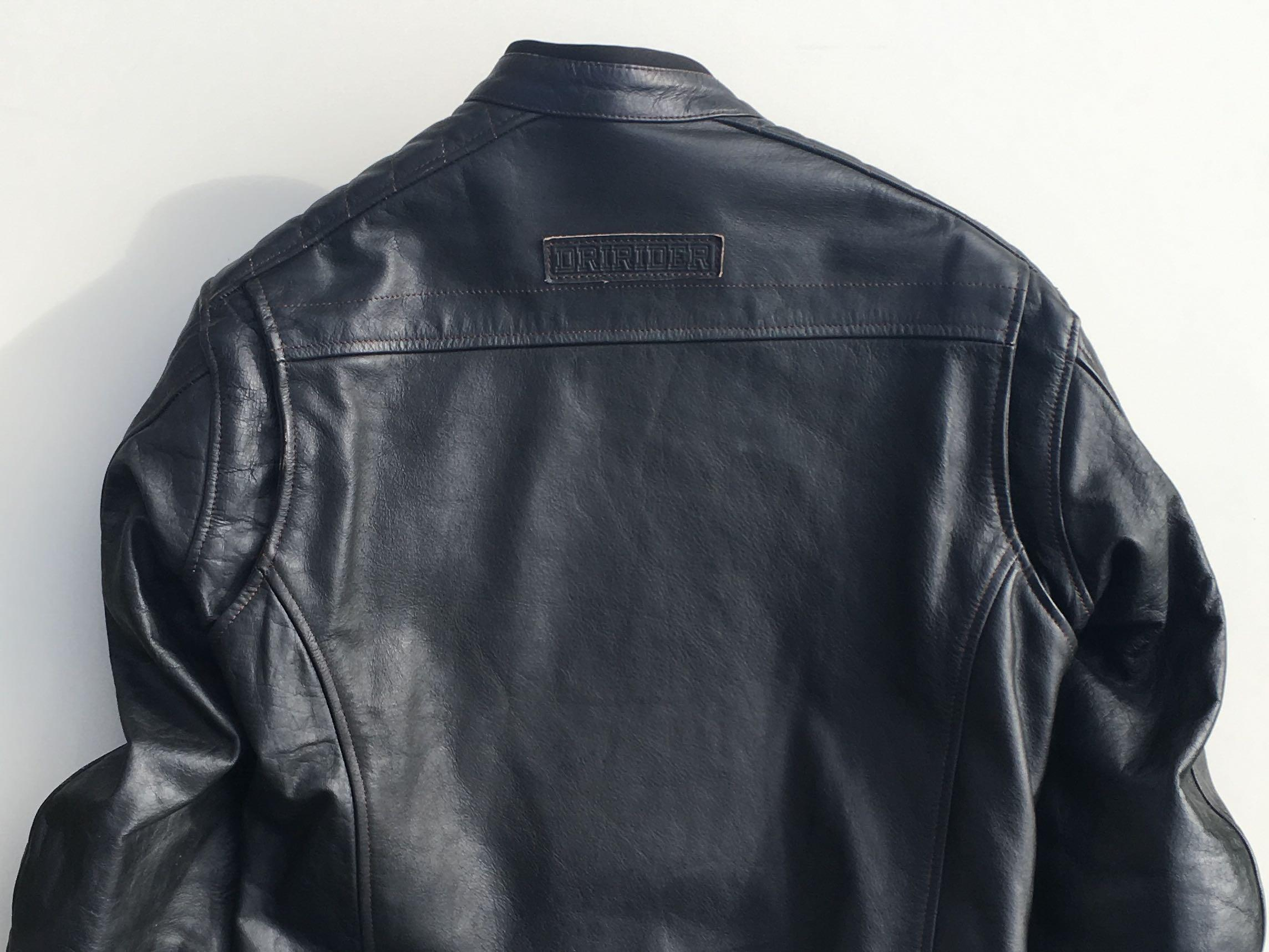 NEARLY NEW Motorcycle Jacket - Dririder GT Leather Jacket
