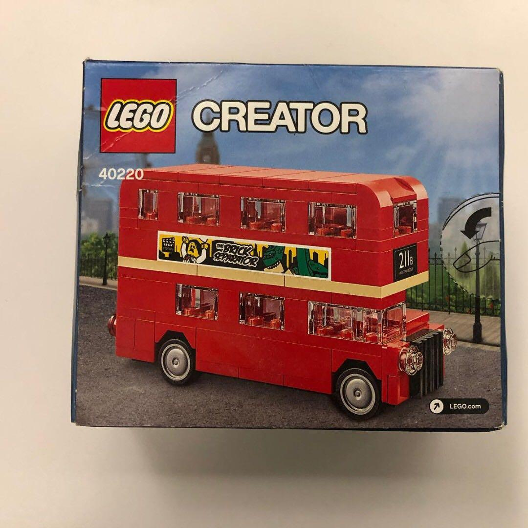 New 絕版  Lego 40220 現貨 NISB Creator London Bus 10258