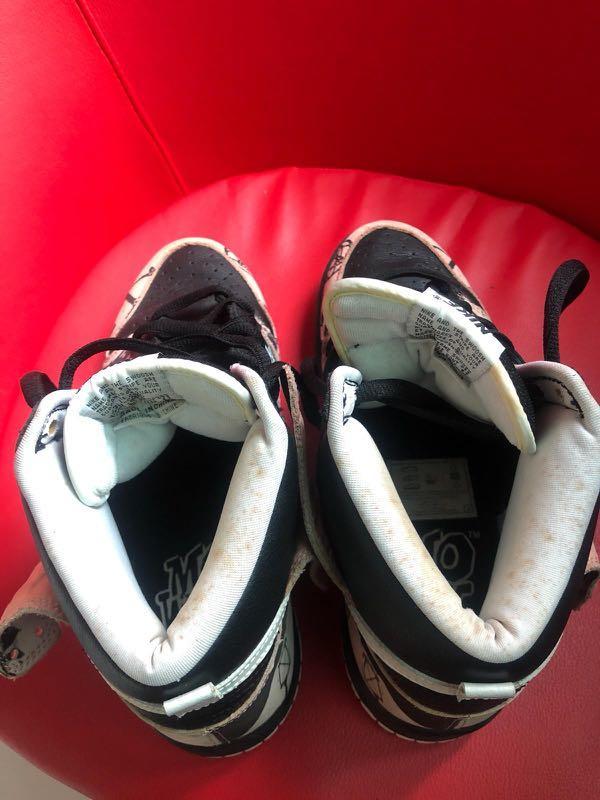 Nike Unkle US10 Sneaker af Sb undftd supreme