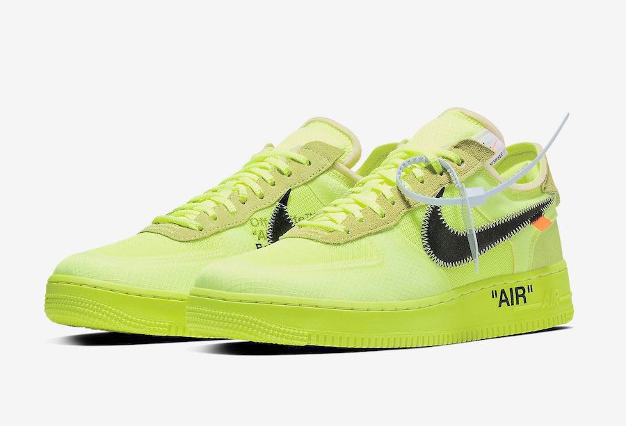 8a613b80dfcd6 Off White Nike Air Force 1 Low Volt, Men's Fashion, Footwear ...