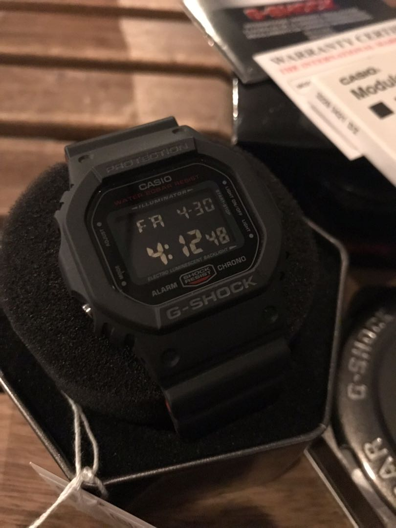 Original G Shock Hr1 Dw 5600 Hr1 Petak Men S Fashion Watches On