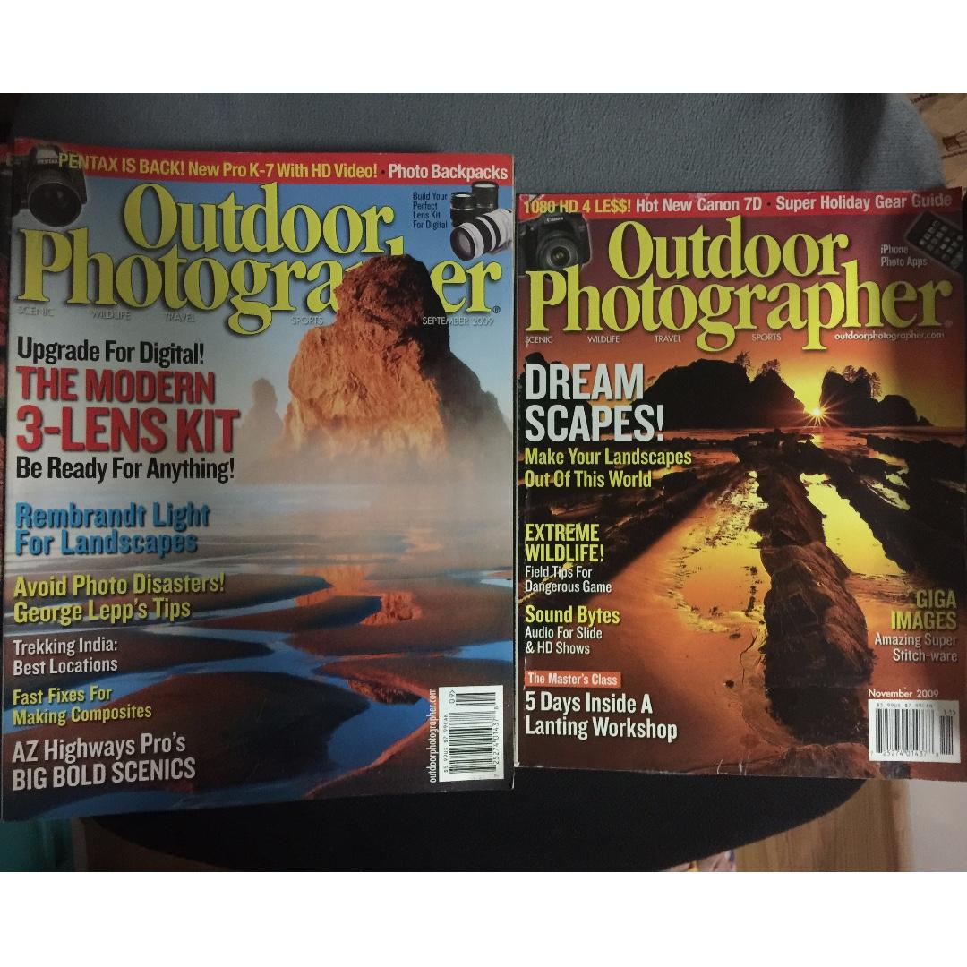 Outdoor Photography Magazine Back issues, Books, Magazines