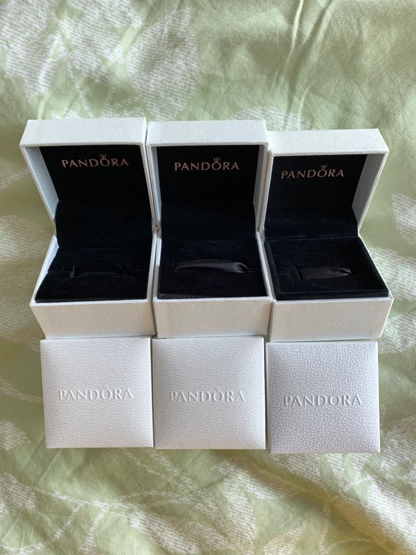 aba7a68cd Pandora Charm & Ring Boxes, Everything Else on Carousell