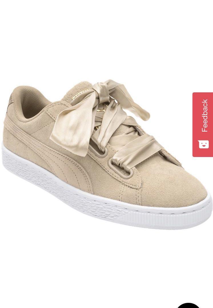 Puma ribbon shoes