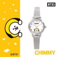[Purchase from Korea) BT21 x OST OFFICIAL SILVER 2.8CM WATCH( DESIGNED BY BTS )
