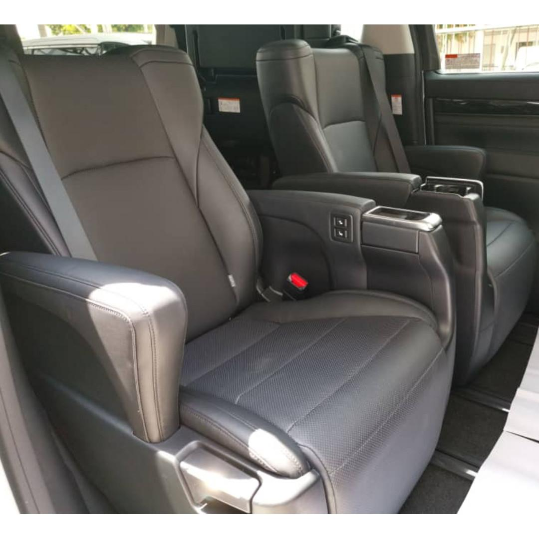 Recond Latest Model Toyota Vellfire 2.5 ZG Sunroof Moonroof Modelista