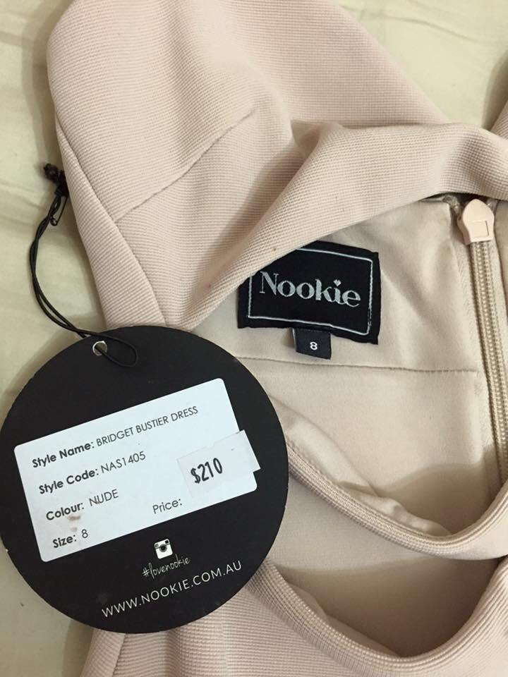 *REDUCED* Nookie Bustier Dress
