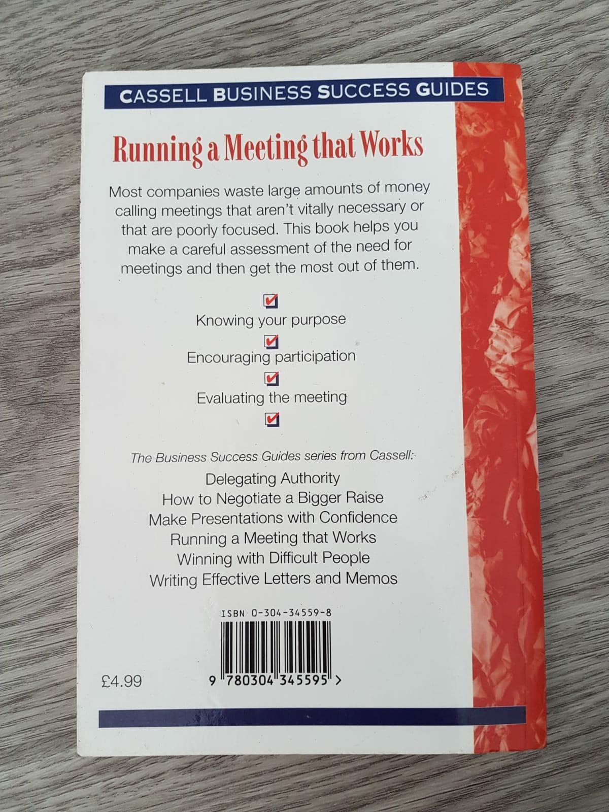 Running a meeting that works