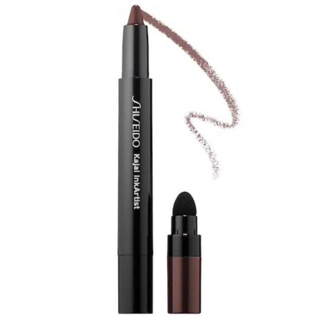 Shiseido Kajal Ink Artist Shadow, Liner, Brow in Tea House 01