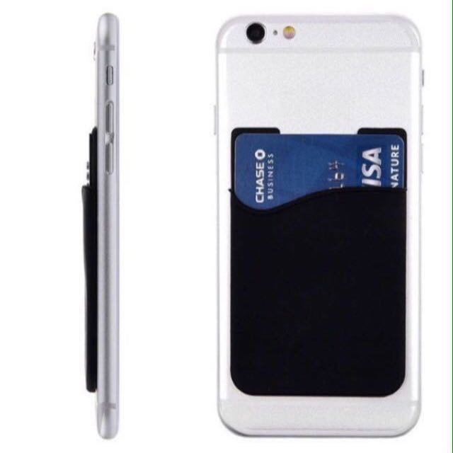 Silicone Cardholder For Handphone Handphone Mobile Phone Card Holder Pouch Practical Gifts Uncle Anthony Follow This Link B4 U Chat To Order