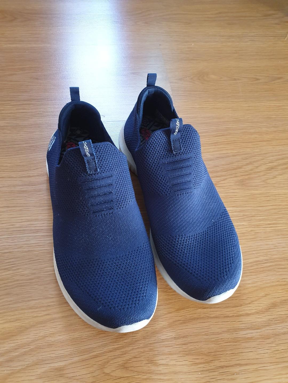 Skechers Navy Blue Slip On Rubber Shoes