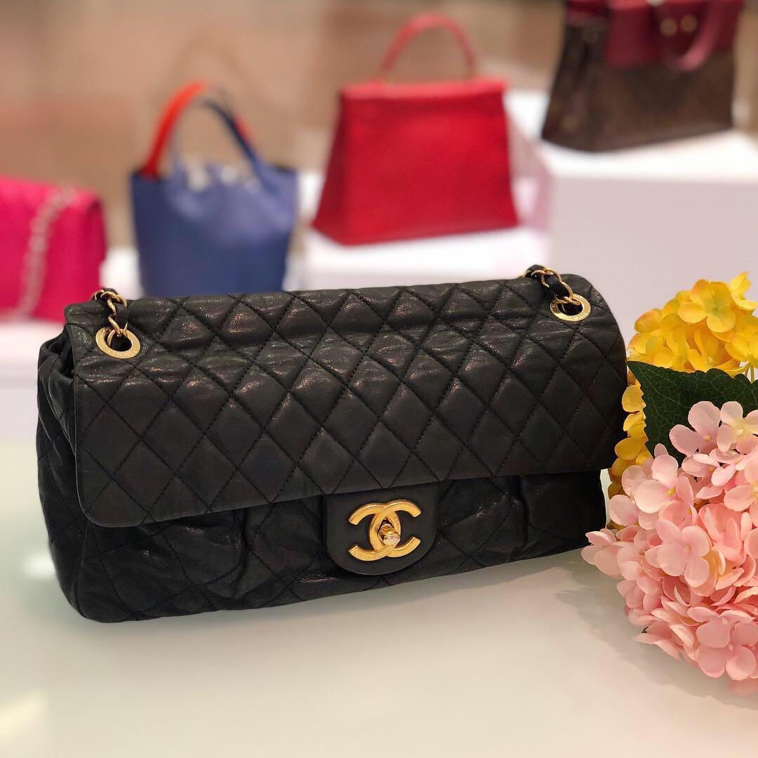 0d2e0e04d2c2 ❌SOLD!❌ Superb Deal!🖤 Chanel Seasonal Flap in Iridescent Nubuck ...