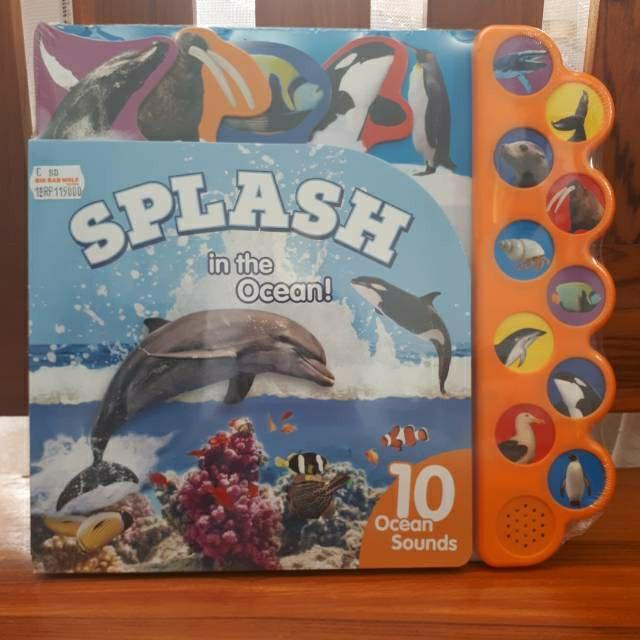 Sound book Splash in the ocean