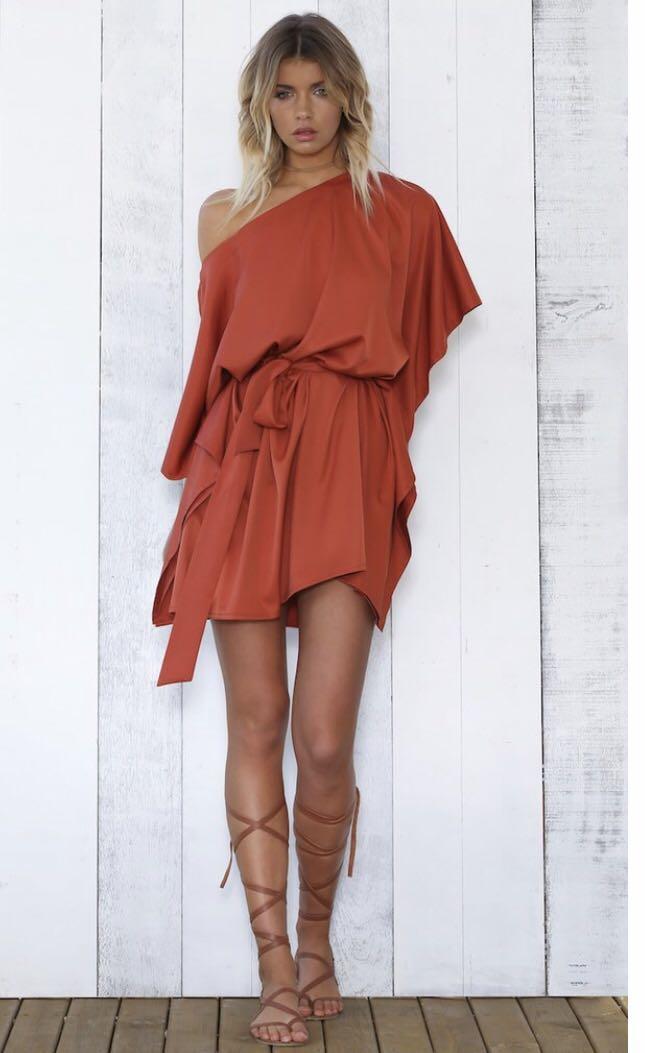 Sunday's the Label Sateen Dress