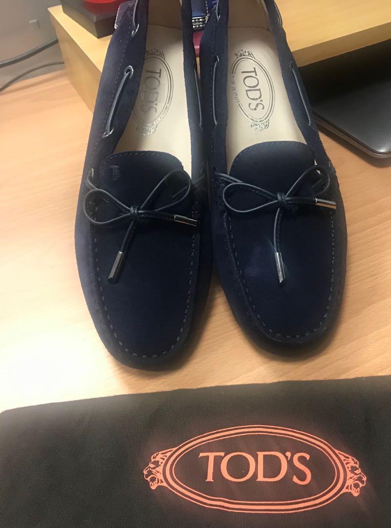 Tods 全新休閒豆豆鞋,女版38號,39號也可穿