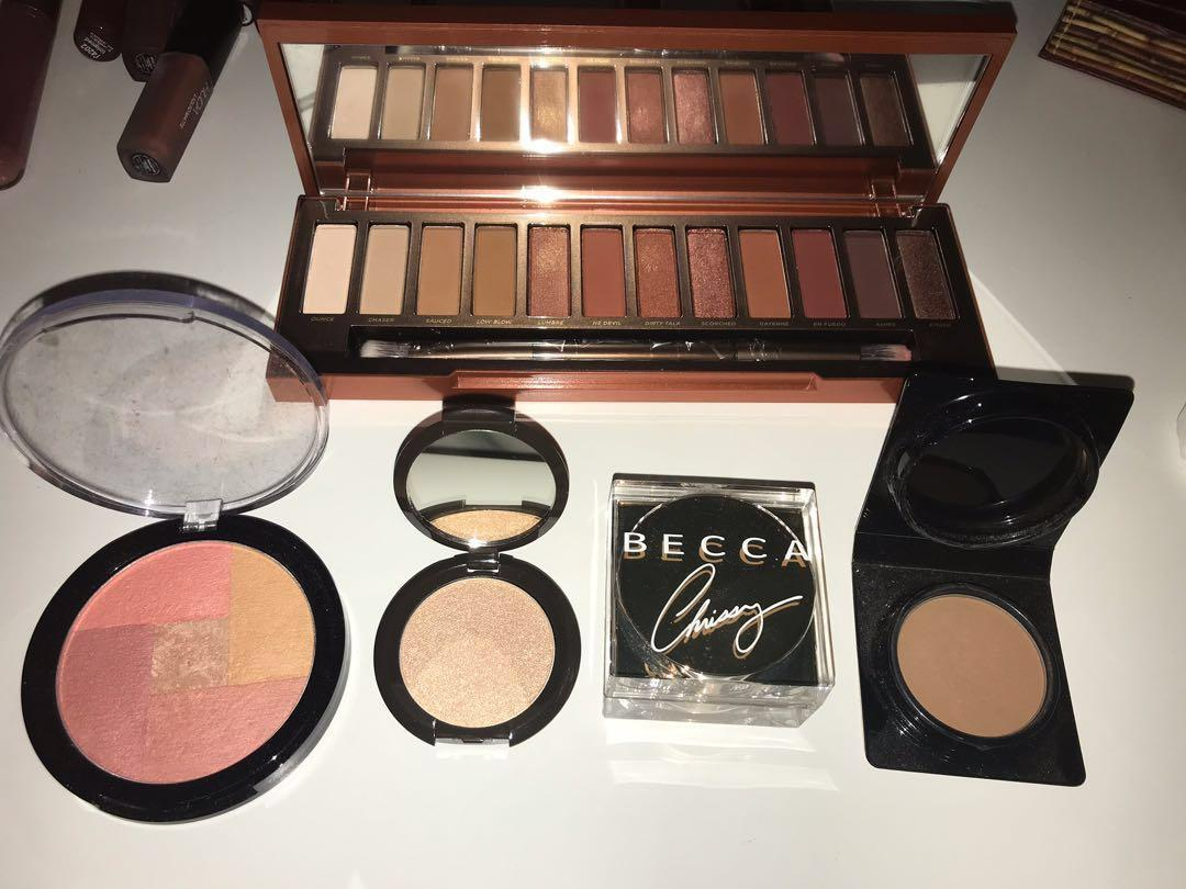 Urban decay naked heat palette too face becca and more!